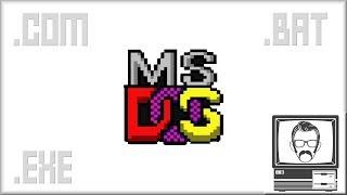 DOS Executables Explained [Byte Size]   Nostalgia Nerd Video