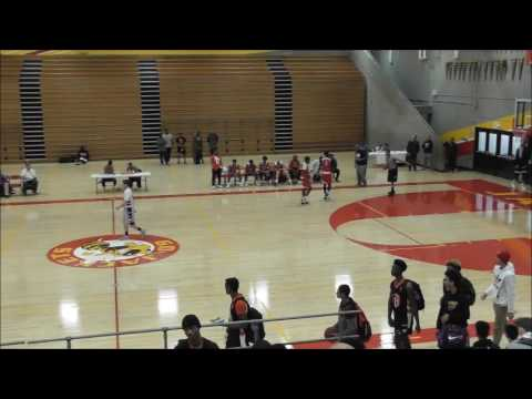 Palo Alto Peak Basketball JV vs team Lilliard 04-01-2017