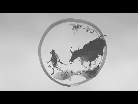 Ten Bulls - Ten Ox Herding Pictures - Zen-Buddhism (Animation)