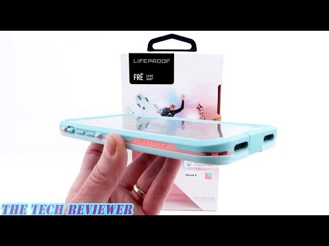 *NEW* LifeProof FRE: LifeProof's Most Protective Case for iPhone X!
