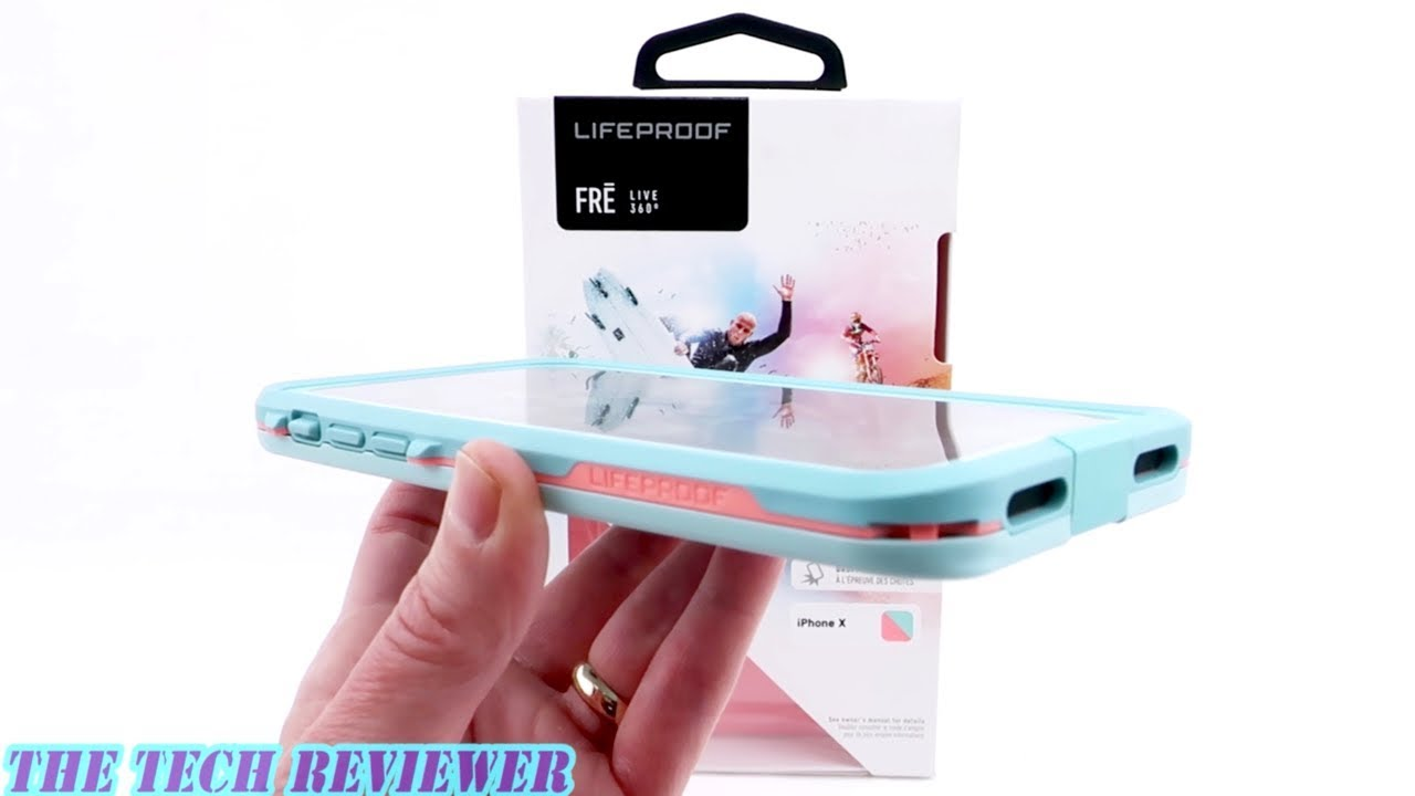 release date: 0c7e6 ef517 *NEW* LifeProof FRE: LifeProof's Most Protective Case for iPhone X!