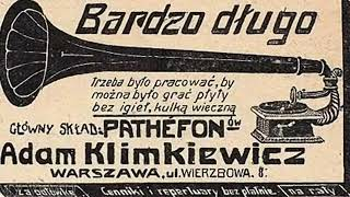 Roaring 20s: Warsaw: Brawo! Bis! -  Foxtrot from theatre Perskie Oko, 1926
