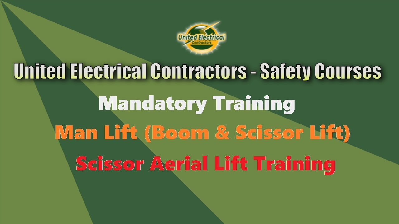 Scissor aerial lift training jlg youtube scissor aerial lift training jlg xflitez Choice Image