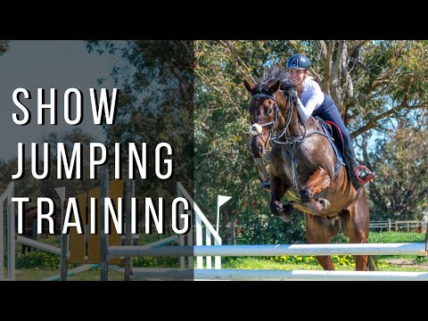 SHOW JUMPING TACK UP & TRAINING VLOG | Elirose Equestrian