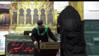 مجلس عزاء ليلة الأربعين استشهاد الامام الحسين عليه السلام  للقارئ الحاج احمد حمدان 10-27-18