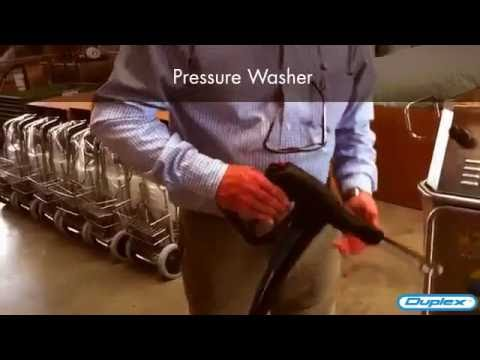 Demonstration Of Steam Pressure Heavy Duty Industrial Steamer Machine