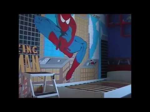La habitación spiderman
