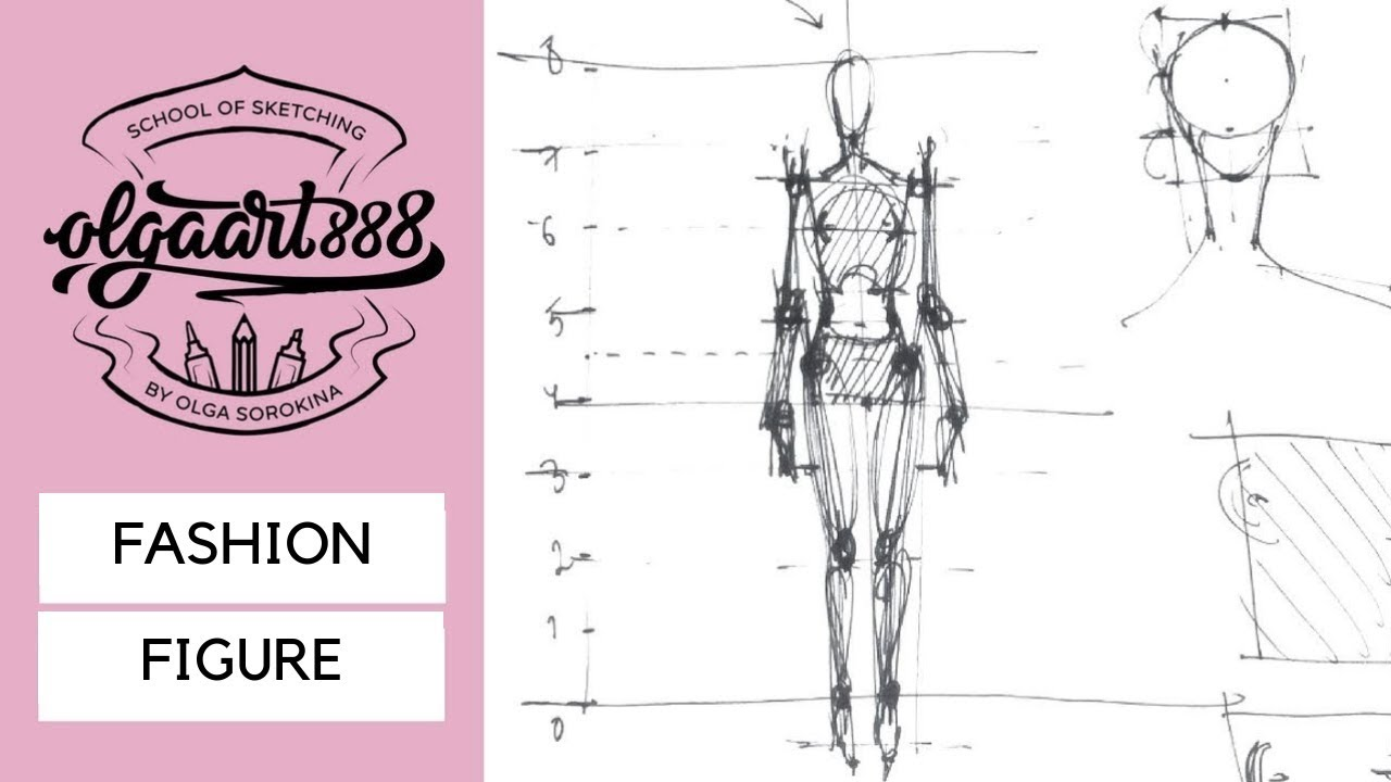 How To Draw Fashion Figure 8 Heads Technique