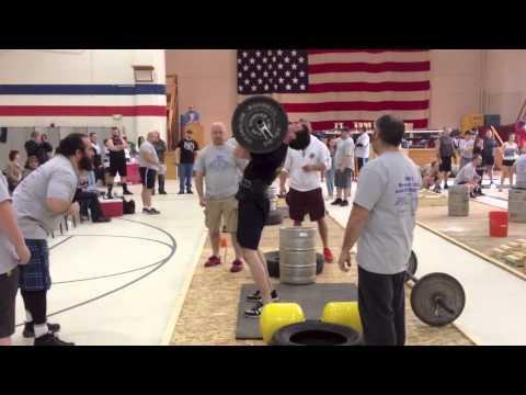 Chris Noonan • Maine StrongMan 6 • Event #1: Press Medley