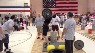 Chris Noonan • Maine StrongMan 6 • Event #1: Press Medley