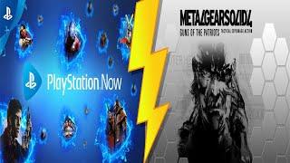 Noche de PS NOW - Metal Gear Solid 4: Guns of the Patriots