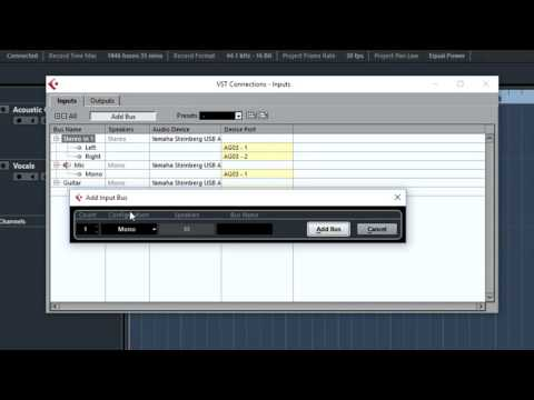 How To: Setup Devices In Cubase AI 8 - Yamaha AG03 USB Mixer