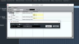 how to setup devices in cubase ai 8 yamaha ag03 usb mixer