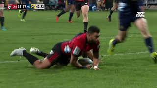 Highlights - Crusaders v Highlanders