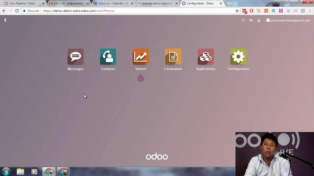 Les bases d'Odoo: Tout ce que vous devez savoir pour démarrer avec Odoo