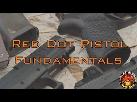 Red Dot Pistol fundamentals Video