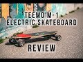 Teemo M-1 Electric Skateboard Review | One of the cheapest!