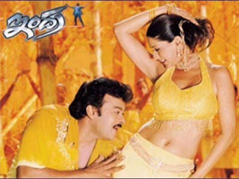 Indra Songs With Lyrics - Radhe Govinda Song - Chiranjeevi, Aarti Agarwal, Sonali Bendre