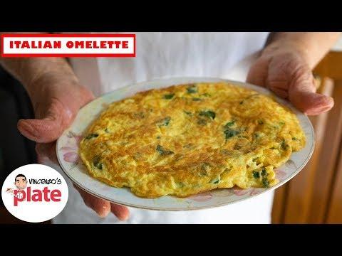 MOUTHWATERING ITALIAN OMELETTE | How to Make Egg Omelette | Frittata Recipe