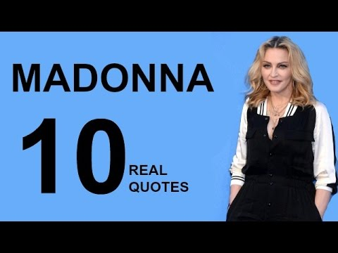 Madonna 10 Real Life Quotes on Success | Inspiring | Motivational Quotes