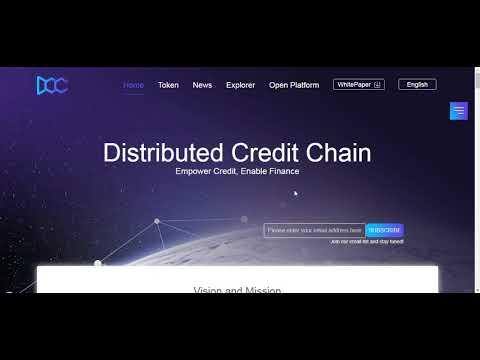 Обзор проекта Distributed Credit Chain - мощная система для банков на блокчейн