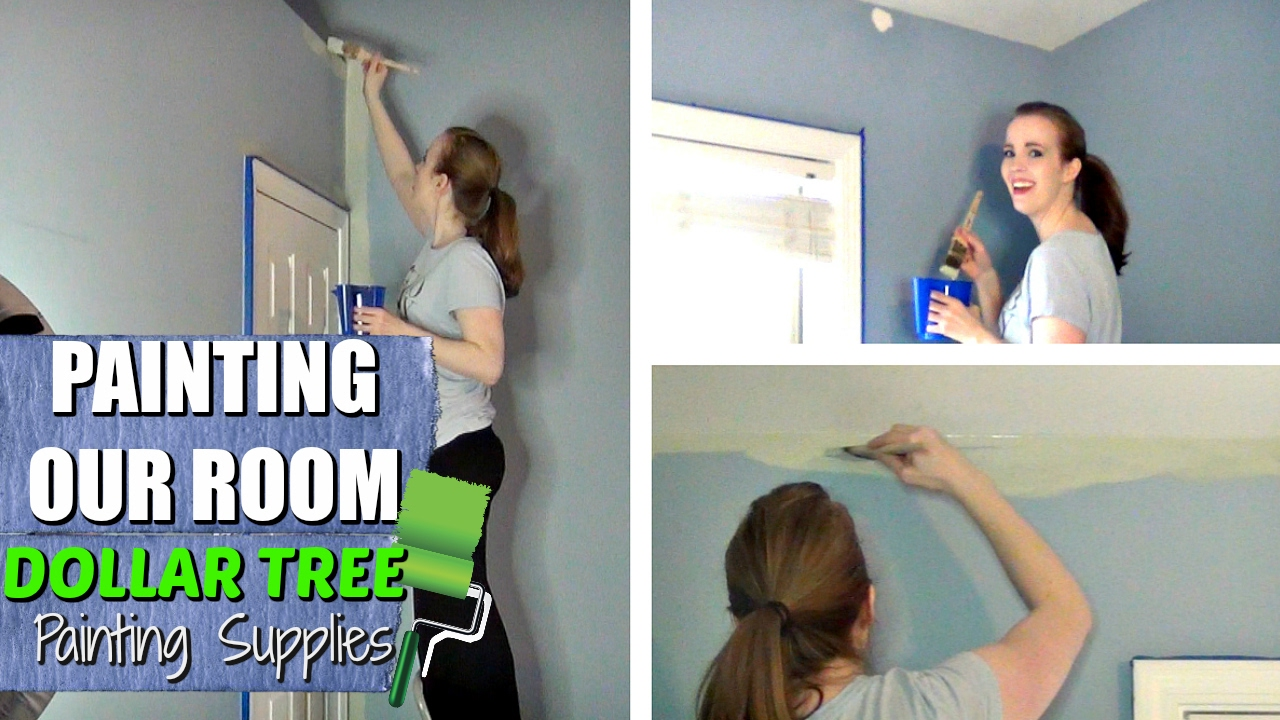 Supplies For Painting A Room day in the life | painting our master bedroom | dollar tree
