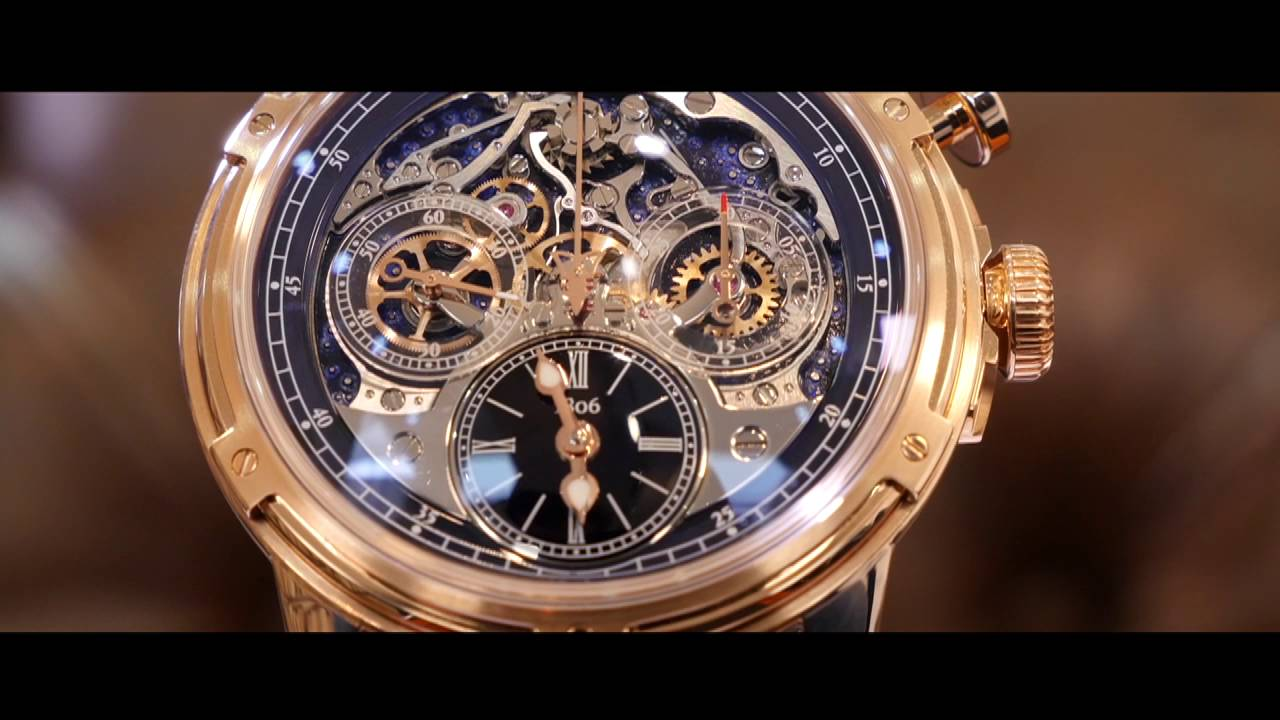 Louis moinet baselworld 2016 youtube for Louis moinet watch