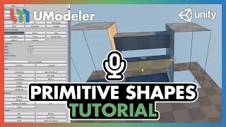 UModeler Tutorial #1 - Basics & Primitive Shapes.