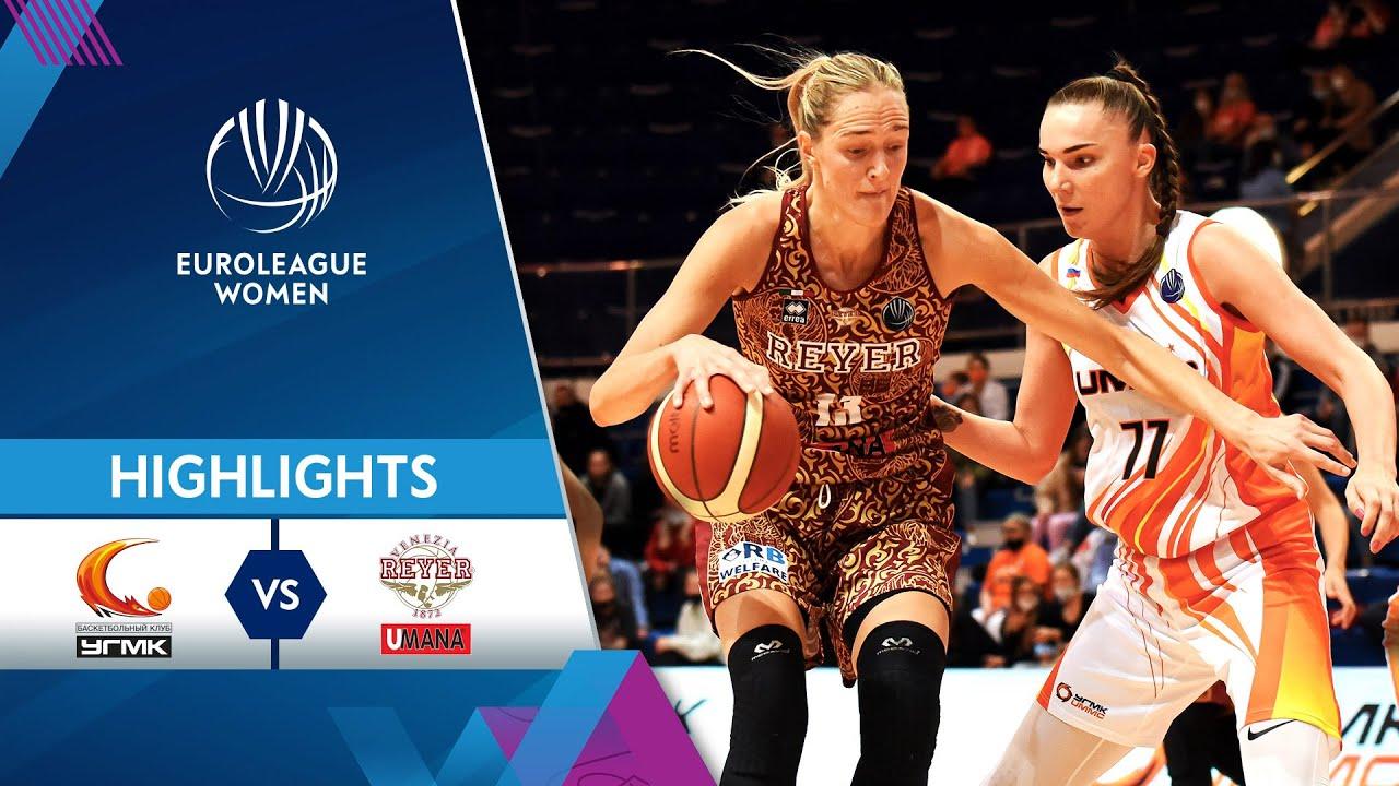 UMMC Ekaterinburg - Umana Reyer | Highlights | EuroLeague Women 2021/22