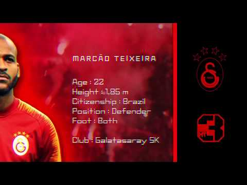 Marcao Teixeira ● Welcome To Galatasaray ● Galatasaray Transfer ● 2019   HD