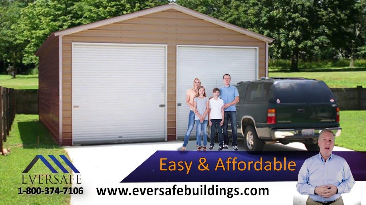 eversafe metal garage buildings