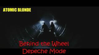 Behind the Wheel atomic blonde