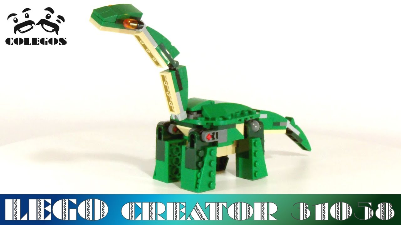 Lego Creator 31058 Brontosaurus Secret Model Lego Speed Build