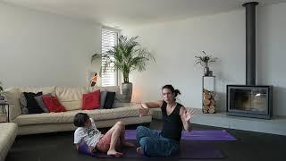 Yoga parent-enfant - préparation du corps