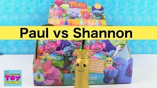 Paul vs Shannon Trolls Series 7 Blind Bag Challenge Toy Review | PSToyReviews