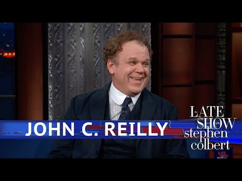 DZL - John C. Reilly - The Stepbrothers farts were real!