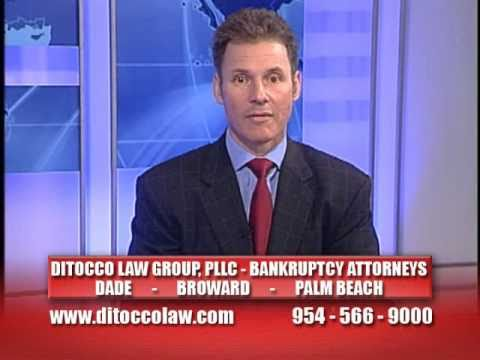 Aventura, FL Bankruptcy Attorney Tony DiTocco (954-566-9000, www.ditoccolaw.com)