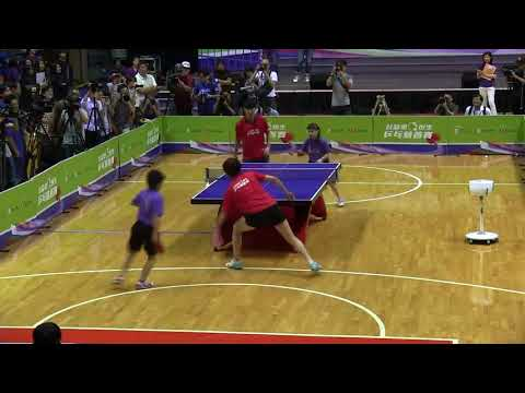 Table Tennis Charity Challenge 2015 - Hong Kong / Mixed Doubles - DING Ning / YAN An