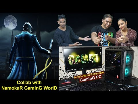 Collaboration With Namokar Gaming World | My Face Revealed | Discussion On India's Most Expensive PC
