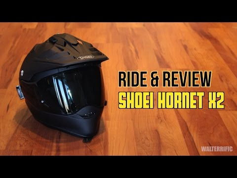 Ride & Review - Shoei Hornet X2