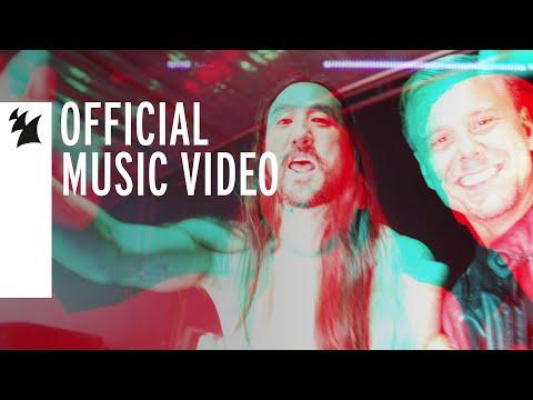 Смотреть клип Steve Aoki & Armin Van Buuren - Music Means Love Forever