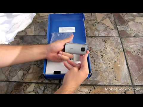 Nokia 6700 slide unboxing
