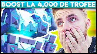 4,000 DE TROFEE + 2 LEGENDARY KING CHEST-URI !