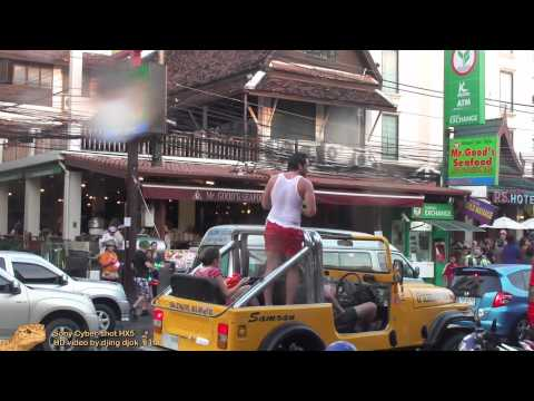 Songkran 2011 on Phuket – Patong Beach – Part 4 — Second Road – HD 1920×1080