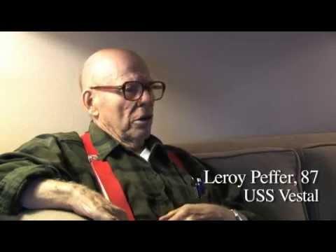 Pearl Harbor Survivor Leroy Peffer