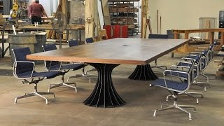 Vintage Industrial Conference Tables
