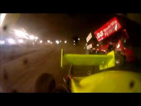 Clay Dow Sprint Cars of New England In-Car Feature at Canaan Dirt Speedway 9-2-11