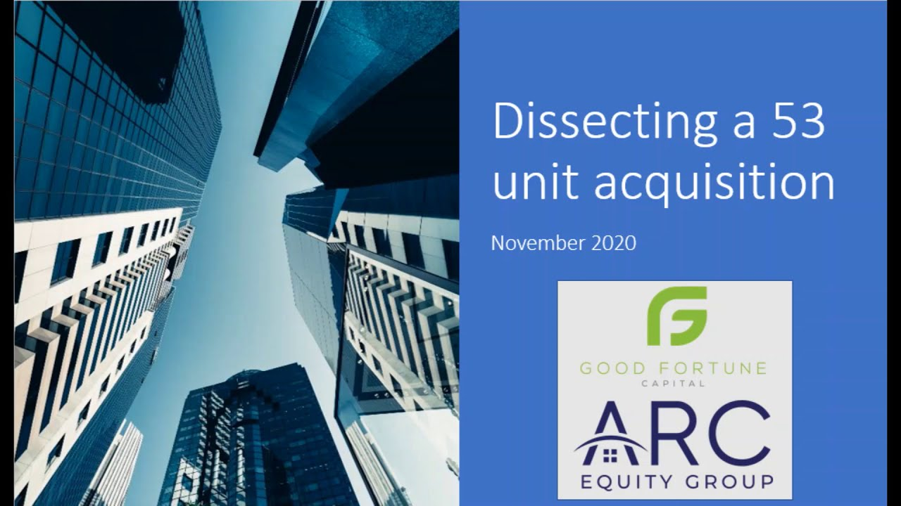 Dissecting Acquisition of a 53 Unit