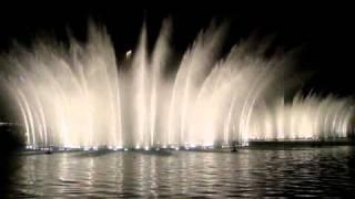 New Year's Eve 2011, Fountain Show at Burj Khalifa, Dubai