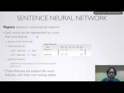 Neural networks [10.9] : Natural language processing - convolutional network